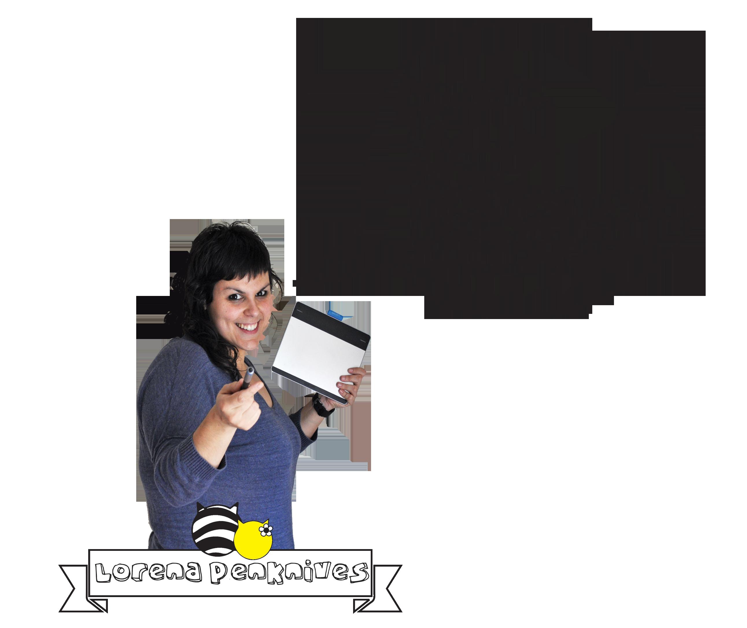 Lorena amb banner+presentació