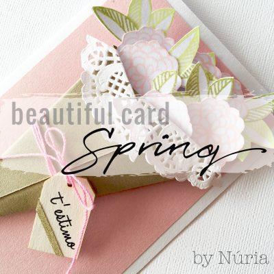 Spring_card_Gigietmoi_True colors scrapbook