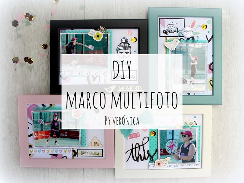 DIY marco multifoto en cuatro pasos