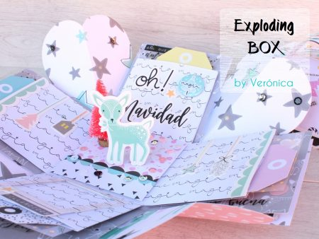 Tutorial Exploding box Felices Fiestas!!!