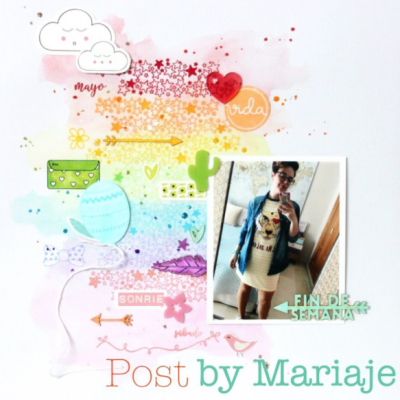 Página «arco iris»