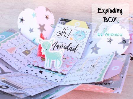 Tutorial Exploding box Felices Fiestas!!!